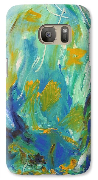 Galaxy Case featuring the painting  Spring Time by Fereshteh Stoecklein