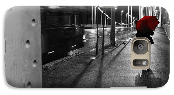 Galaxy Case featuring the photograph Parallel Speed by Simona Ghidini
