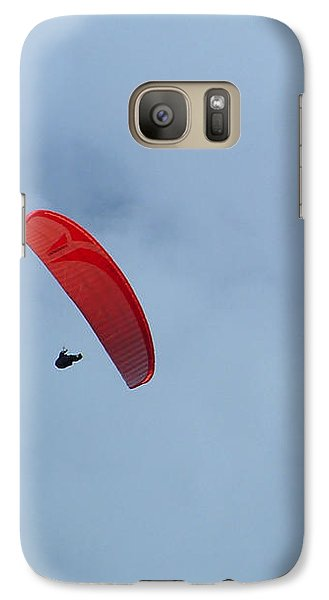 Galaxy S7 Case featuring the photograph Parapente by Marc Philippe Joly