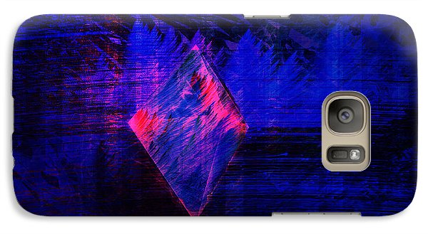 Galaxy Case featuring the digital art Parched Rainforest by Kylie Sabra