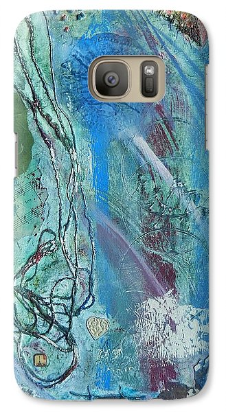 Galaxy Case featuring the painting Paris by Betty-Anne McDonald