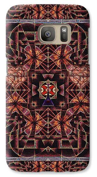 Galaxy Case featuring the digital art Paris City Of Hearts by Joseph J Stevens