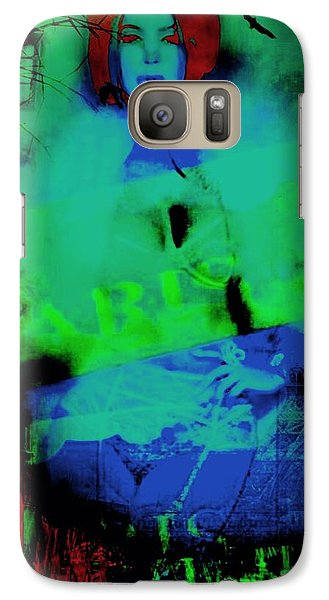 Galaxy Case featuring the digital art Paris  by Diana Riukas