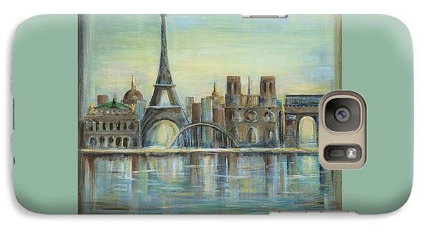 Paris Highlights Galaxy Case by Marilyn Dunlap
