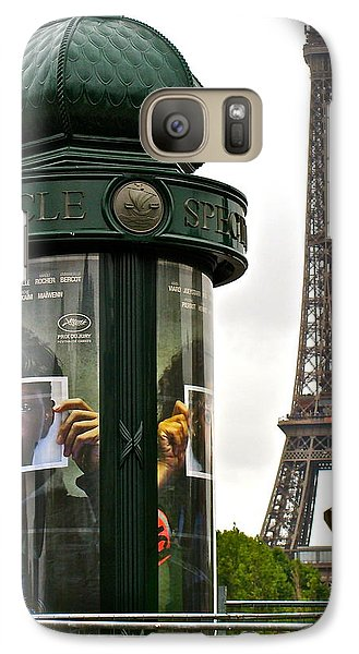 Galaxy Case featuring the photograph Paris by Ira Shander
