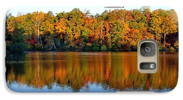 Galaxy Case featuring the photograph Paris Mountain In Fall by Larry Bishop