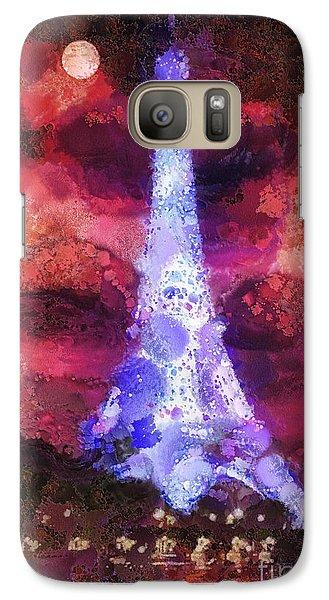 Mo Galaxy S7 Case - Paris Night by Mo T