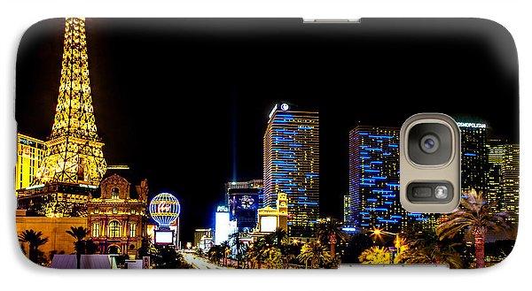 Eiffel Tower Galaxy S7 Case - Welcome To Vegas by Az Jackson