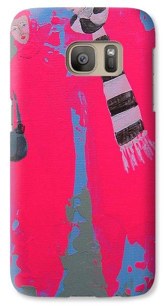 Galaxy Case featuring the painting Paris Promenade by Marina Gnetetsky