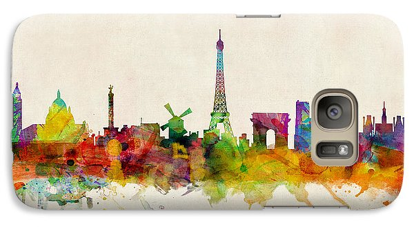 Paris Skyline Galaxy S7 Case