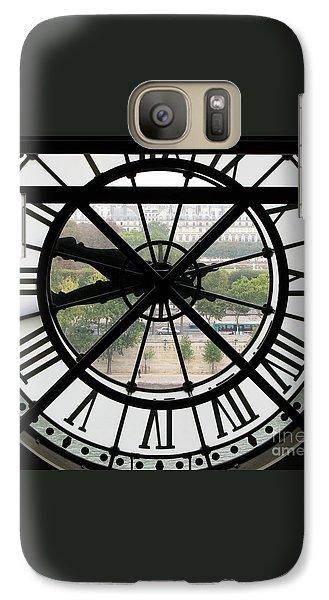 Galaxy Case featuring the photograph Paris Time by Ann Horn