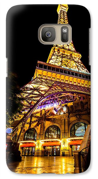 Paris Under The Tower Galaxy S7 Case by Az Jackson