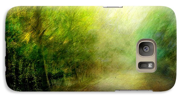 Galaxy Case featuring the photograph Park #7. The Colors Of Silence by Alfredo Gonzalez