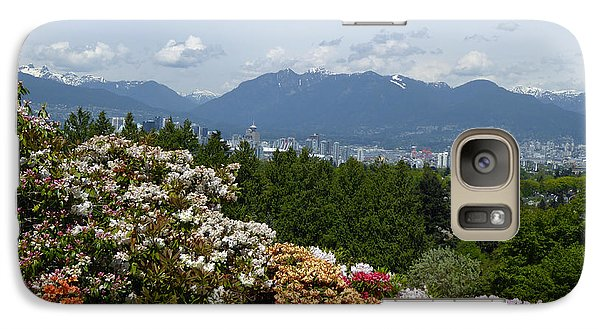 Galaxy Case featuring the photograph Park And City View by Laurie Tsemak