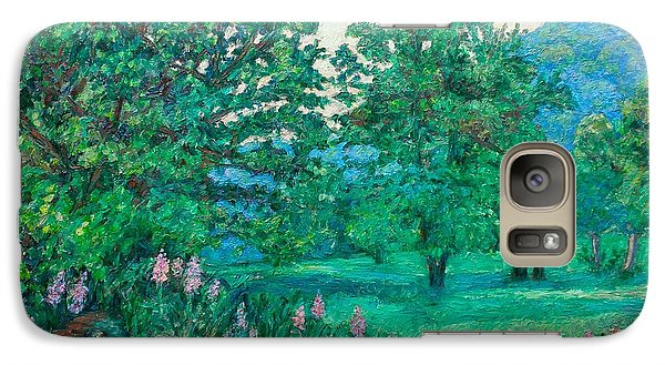 Galaxy Case featuring the painting Park Road In Radford by Kendall Kessler