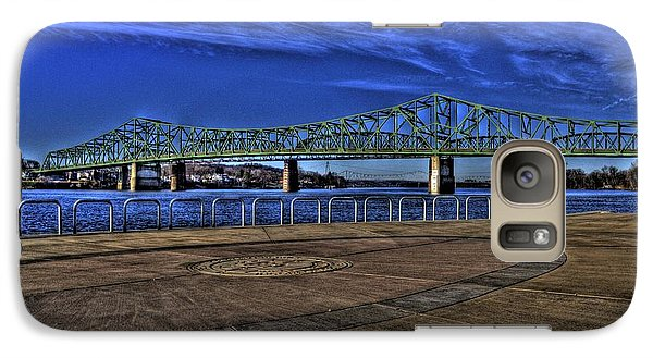 Galaxy S7 Case featuring the photograph Parkersburg Point Park by Jonny D