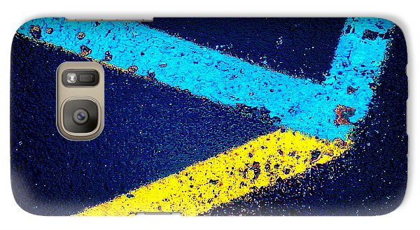 Galaxy Case featuring the photograph Parking Lot by Daniel Thompson
