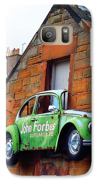 Galaxy Case featuring the photograph Parking Problem by Richard James Digance