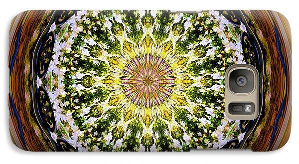 Parkside Mandala Galaxy S7 Case by Bill Barber
