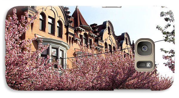 Galaxy Case featuring the photograph Philadelphia Parkside  by Christopher Woods