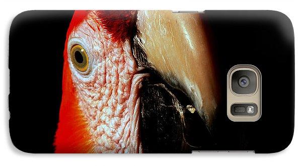 Galaxy Case featuring the photograph Parrot by Gunter Nezhoda