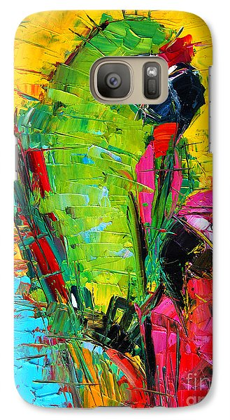 Parrot Lovers Galaxy S7 Case
