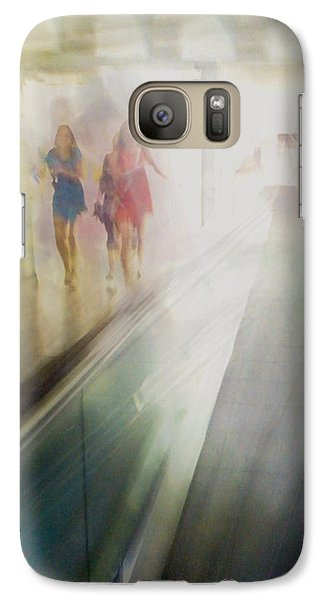 Galaxy S7 Case featuring the photograph Party Girls by Alex Lapidus