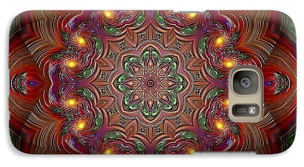 Galaxy Case featuring the digital art Party Time 3 D Art by Hanza Turgul