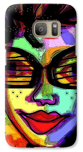 Galaxy Case featuring the digital art Party Time by Sladjana Lazarevic
