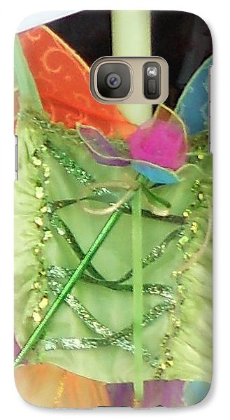 Galaxy Case featuring the photograph Party Time Window by Jackie Mueller-Jones