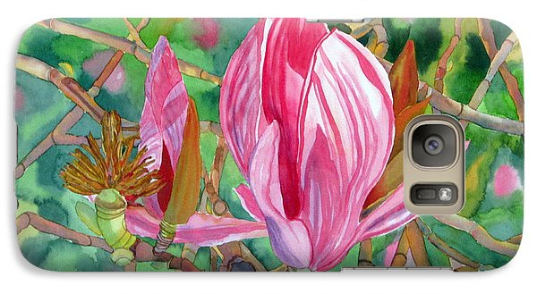 Galaxy Case featuring the painting Passage by Debi Singer