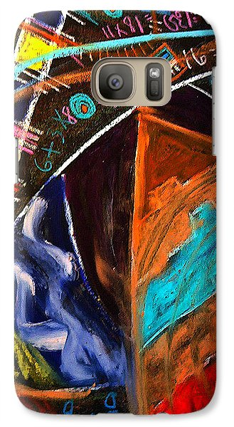 Galaxy Case featuring the painting Passage Forward by Clarity Artists