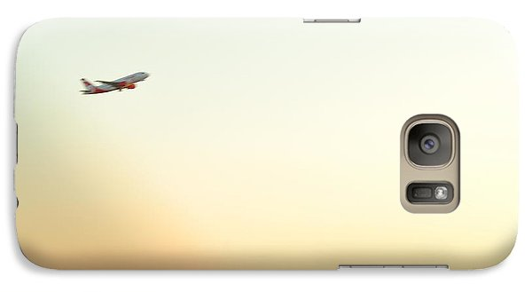 Galaxy Case featuring the photograph Passing By  by Puzzles Shum