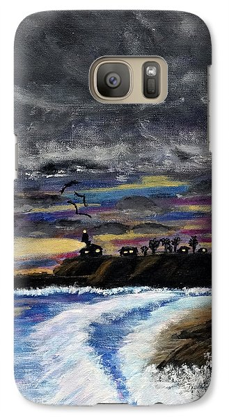 Galaxy Case featuring the painting Passing Storm by Gary Brandes