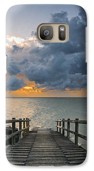 Galaxy Case featuring the photograph Passing Storm by Trevor Chriss