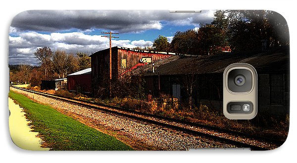 Galaxy Case featuring the digital art Passing Through Galena Illinois by David Blank