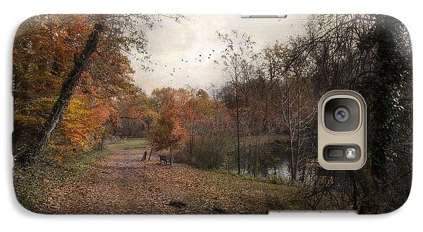 Galaxy Case featuring the photograph Passing Through Hopkins Pond by John Rivera