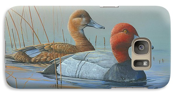 Galaxy Case featuring the painting Passing Through by Mike Brown