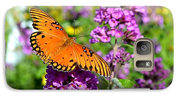 Galaxy Case featuring the photograph Passion Butterfly by Deena Stoddard