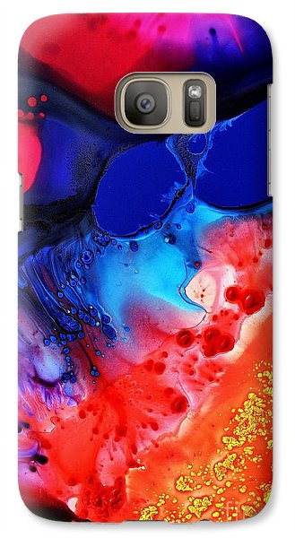 Galaxy Case featuring the painting Passion by Christine Ricker Brandt