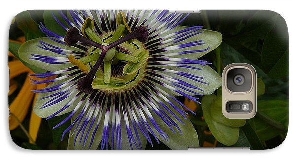 Galaxy Case featuring the photograph Passion Flower by Jane Ford