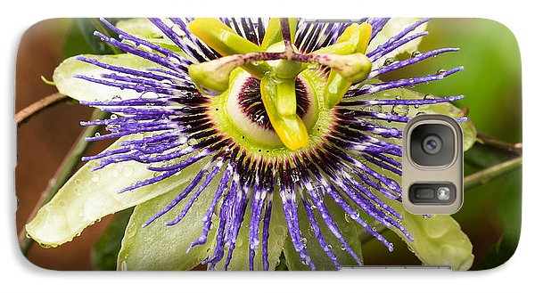 Galaxy Case featuring the photograph Passion Flower by Patricia Schaefer