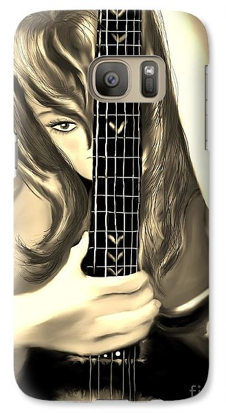 Galaxy Case featuring the painting Passion by Lori  Lovetere