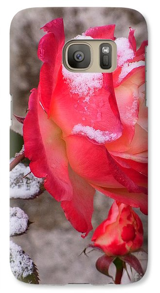 Galaxy Case featuring the photograph Passion Of Life by Agnieszka Ledwon