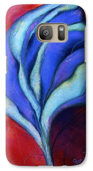 Galaxy Case featuring the pastel Passion by Susan Will