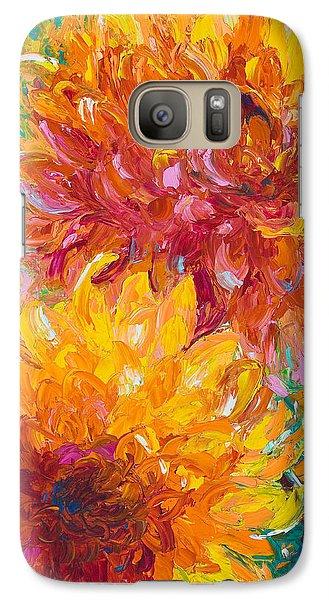 Impressionism Galaxy S7 Case - Passion by Talya Johnson
