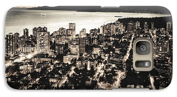 Galaxy Case featuring the photograph Passionate English Bay. Mccclxxviii By Amyn Nasser by Amyn Nasser