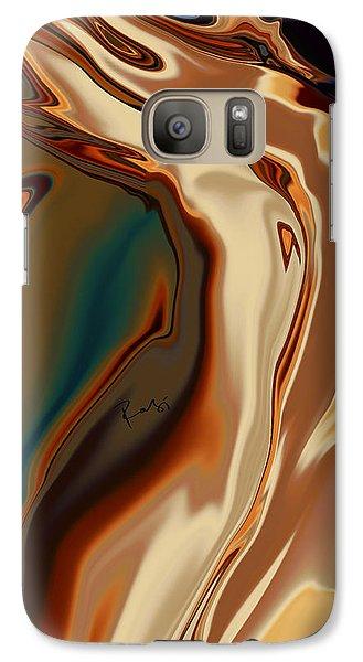 Galaxy Case featuring the digital art Passionate Kiss by Rabi Khan