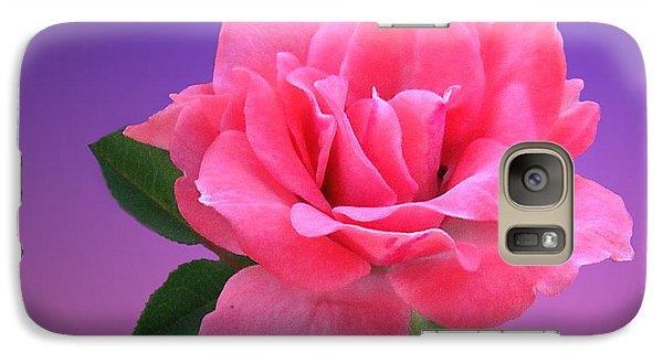 Galaxy Case featuring the photograph Passionate Pink by Joyce Dickens