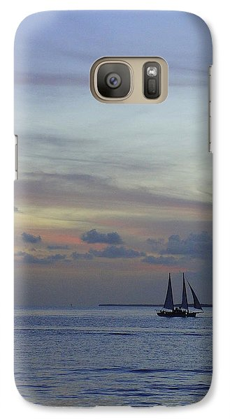 Galaxy Case featuring the photograph Pastel Sky by Laurie Perry